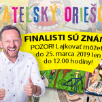 Čitateľský oriešok -Podporte deti a ich kreativitu – lajkujte kresby finalistov zo ZŠ Nábrežná, Kysucké Nové Mesto